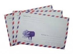 Bao thư bưu điện/ sọc