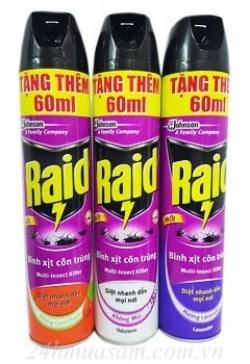 Bình xịt Raid Maxx 600 ml