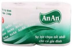 Giấy vệ sinh cuộn An An